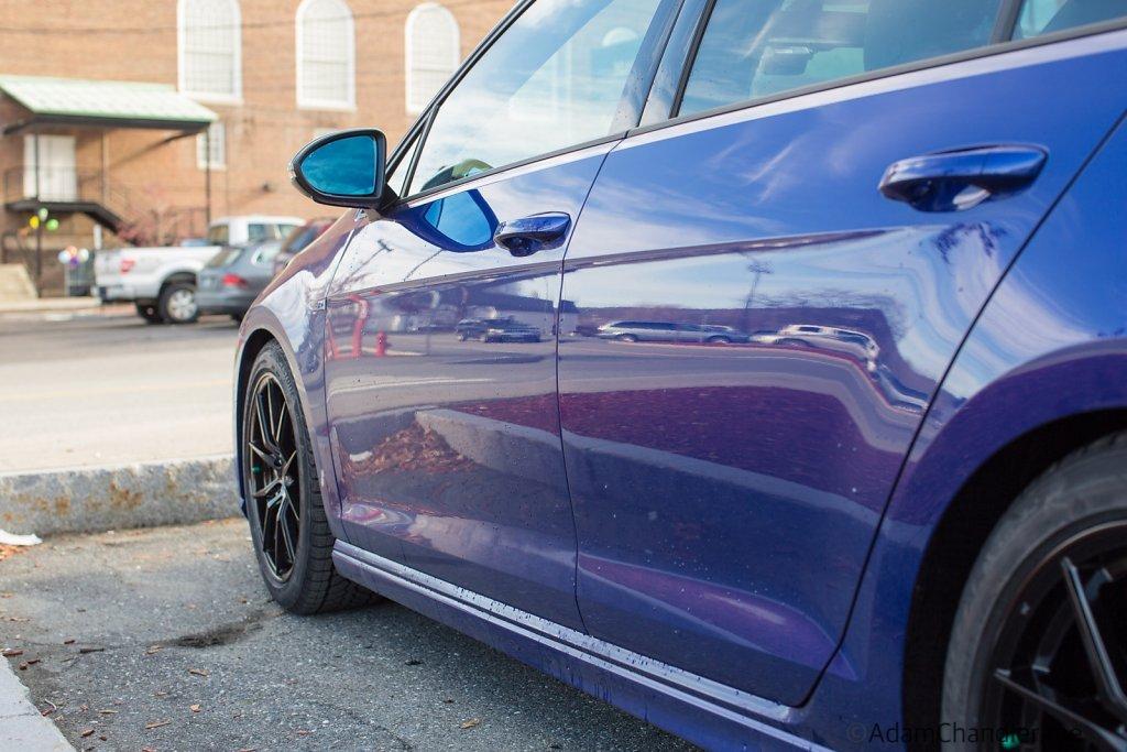 MK7 2016 Golf R, Advanti HY Hybris Black Painted Wheels + Blizza