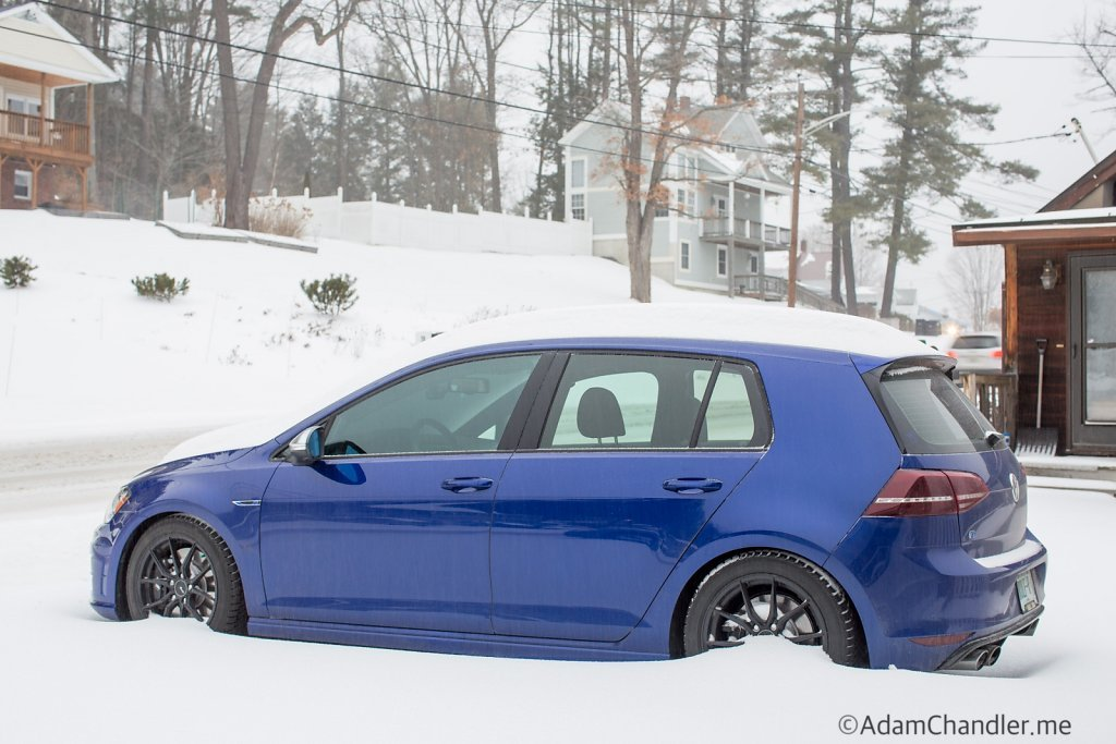 Golf R MK7 in the Snow