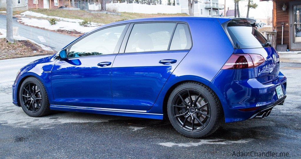 Car-Wash, February 2016 Golf R