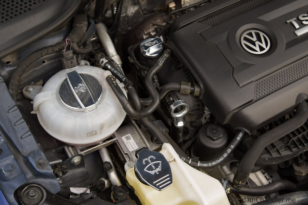 ECS Tuning Billet Aluminum Engine Housing Accessories - MK7 Golf