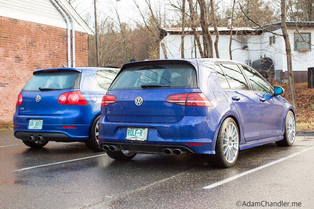 R32 vs Golf  R